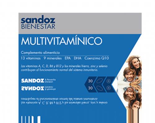 Multivitaminico Sandoz 30 capsulas blandas