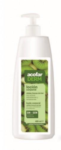 Acofarderm loción corporal celulas frescas kiwi 400 ml