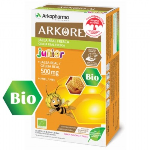 Arkoreal jalea real junior 500 mg 20 amp