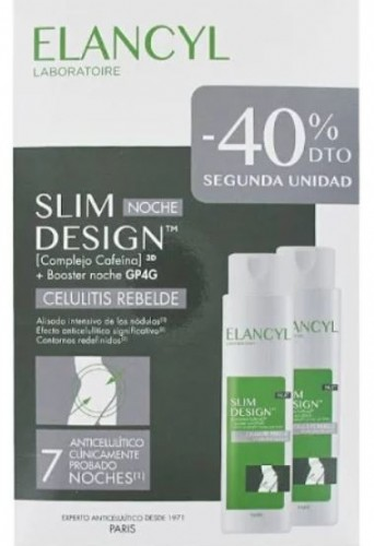 Elancyl slim noche design pack anticelulitico 200 ml + 200 ml