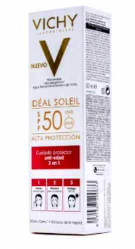 VICHY IDEAL SOLEIL SPF 50 ANTI-EDAD