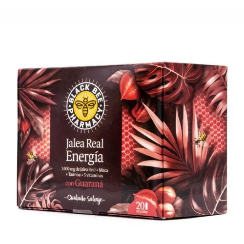 Black bee pharmacy jalea energia (20 viales 10 ml)
