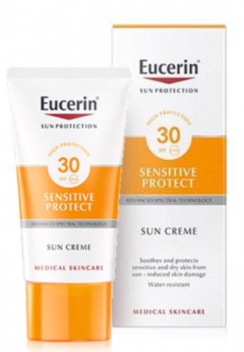 Eucerin Sensitive Protect, proteccion solar 30+ 50 ML