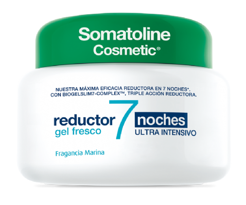Somatoline Cosmetic Gel Fresco Reductor 7 Noches 400ml