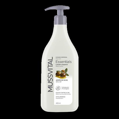 Mussvital Essentials Loción corporal Aceite de Olive 400ml