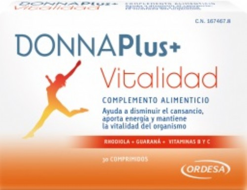 DONNA PLUS+ VITALIDAD (30 COMP)