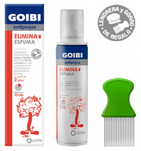 Goibi antipiojos elimina espuma uso humano (150 ml)