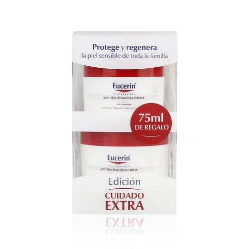 Pack Eucerin ph5 piel sensible 100 ml +75 ml