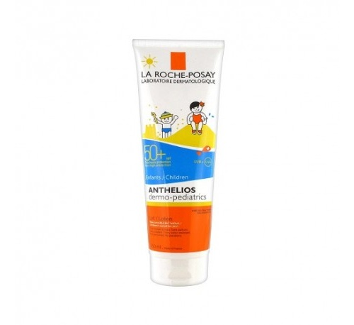 Anthelios spf 50+ dermopediatrics gel wet skin (1 envase 250 ml)