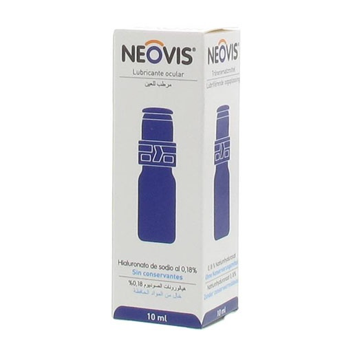 Neovis - solucion lubricante ocular (frasco multidosis 10 ml)
