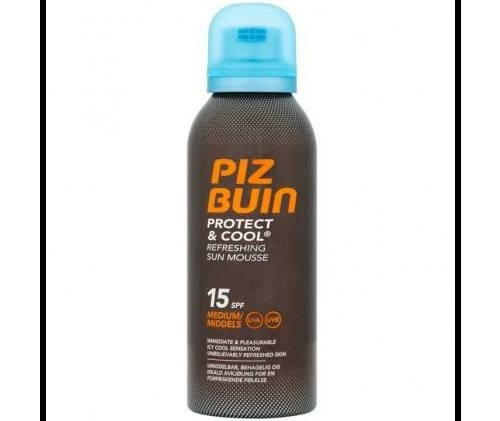 Piz buin protect & cool fps - 15 protec media - mousse solar refrescante (200 ml)
