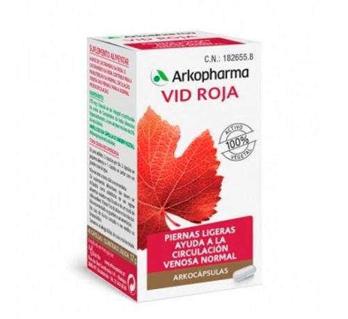 Arkopharma vid roja (84 capsulas)