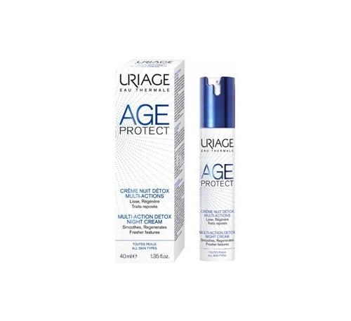 Age protect crema de noche detox (40 ml)