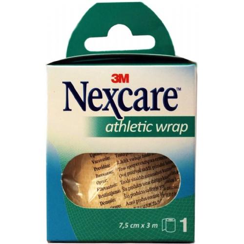3m nexcare athletic wrap (ref n1675w 3m  x 7.5 cm)
