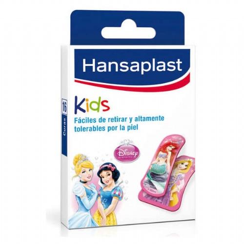 Hansaplast junior tiras adhesivas dibujos inf - aposito adhesivo (disney princess 16 u)