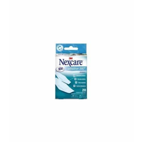 3m nexcare sensitive 360º - aposito adhesivo (surtido 20 apositos)