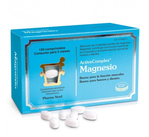 Activecomplex magnesio (150 comprimidos)