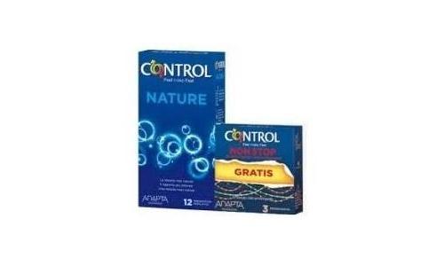 Control nature non stop - preservativos (12+ 3 u)