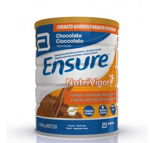 Ensure nutrivigor chocolate polvo 850 g