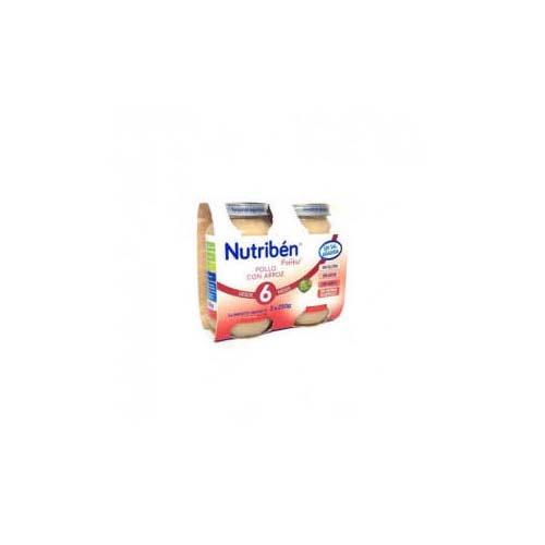 Nutriben pollo con arroz (pack potito 2 x 250 g)