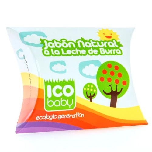 Ico baby jabon natural de leche de burra (100 g)