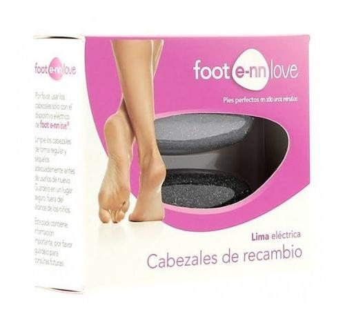 Foot e-nn love rodillos pedicura (recambios)