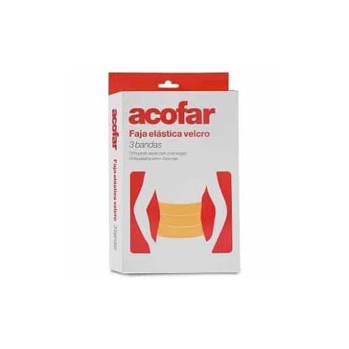 Faja - acofar  elastica velcro 3 bandas (t-4)