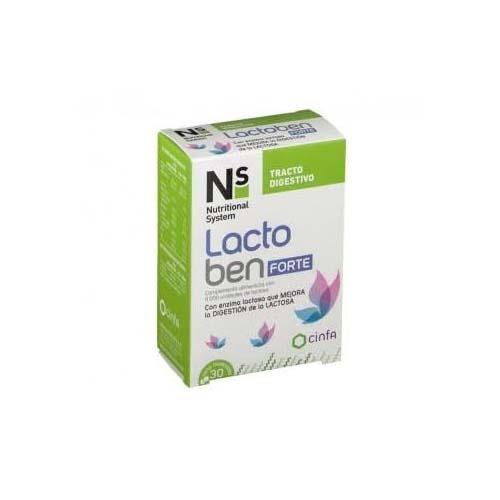 Ns lactoben forte (30 comprimidos masticables)