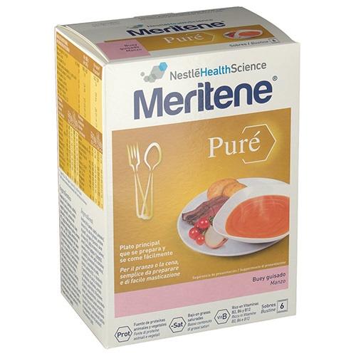 Meritene pure - buey guisado (450 g)