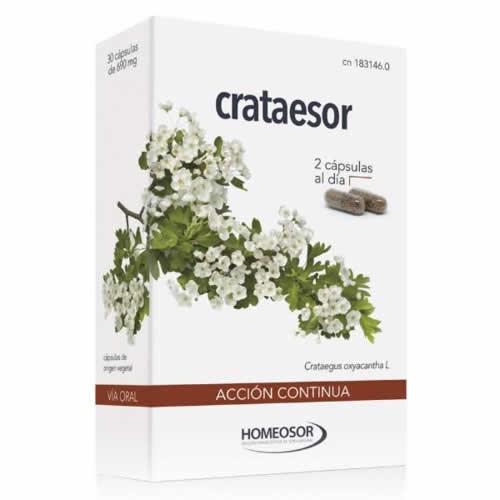 Crataesor accion continua  soria natural (690 mg 30 caps)
