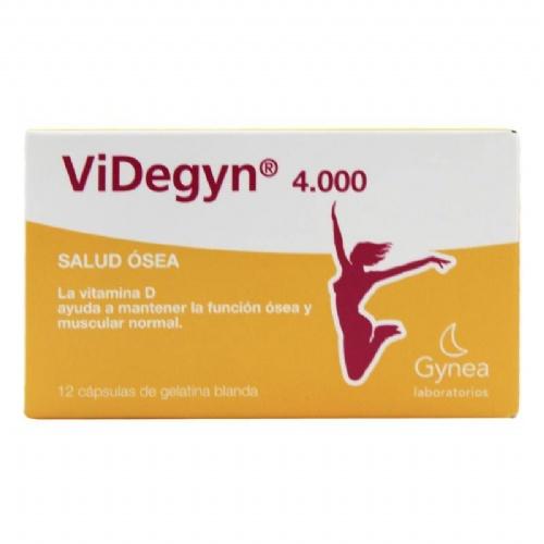 Videgyn 4000 (12 capsulas de gelatina blanda)