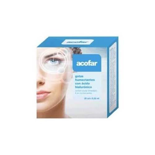 Acofar gotas humectantes acido hialuronico (20 monodosis)