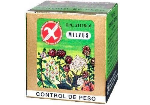 Milvus control de peso (1.2 g 10 filtros)