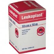Esparadrapo - leukoplast (blanco 10 m  x 10 cm)