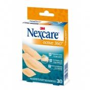 3m nexcare active 360º - aposito adhesivo (surtido 30 apositos)