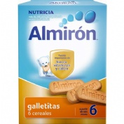 Almiron galletitas advance pack 6 cereales (180 g)