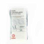 Indas discos desmaquillantes con aloe vera (50 u)