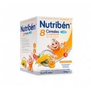 Nutriben 8 cereales y miel calcio (600 g)