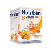 Nutriben 8 cereales y miel frutos secos (600 g)