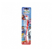 Cepillo dental infantil - kin (playmobil super 4)