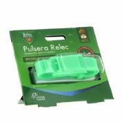 Relec pulsera antimosquitos repelente (color verde)