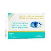 Care+ solucion oftalmica hidratante - 0.2% hialuronato de sodio (0.5 ml 20 viales)
