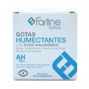 Farline optica gotas humectantes 0.2% ahialuroni - gotas oftalmicas esteriles (0.4 ml monodosis 20 u