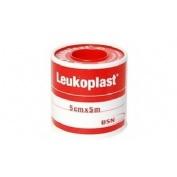 Esparadrapo - leukoplast (carne 5 x 5 cm 6 u)