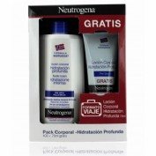 Neutrogena formula noruega hidratacion profunda - locion corporal piel seca (pack 400 ml + 75 ml)