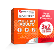 Forte pharma Energy Multivit adulto Pack ahorro 84 comp