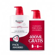 Eucerin Family pack Gel de baño 1 L + 400 ml