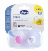 Chupe chicco physio micro 0-2 m duo