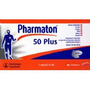 pharmaton 50 plus 30cap