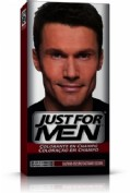 JUST FOR MEN - CHAMPU COLORANTE (66 CC CASTAÑO OSCURO)